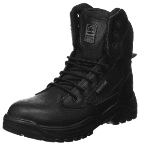 steel toe capped security boot
