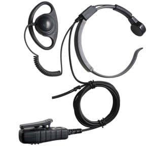 throat mic earpiece