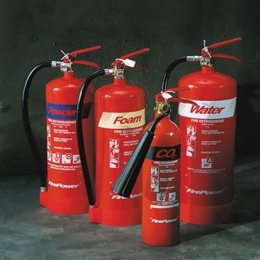 Fire Extinguisher range