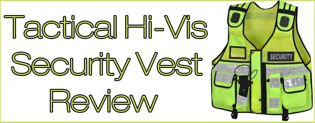 Tactical Hi Vis Security Vest