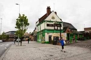 Doorman fighting for life after being struck on head with a brick outside Coventry pub