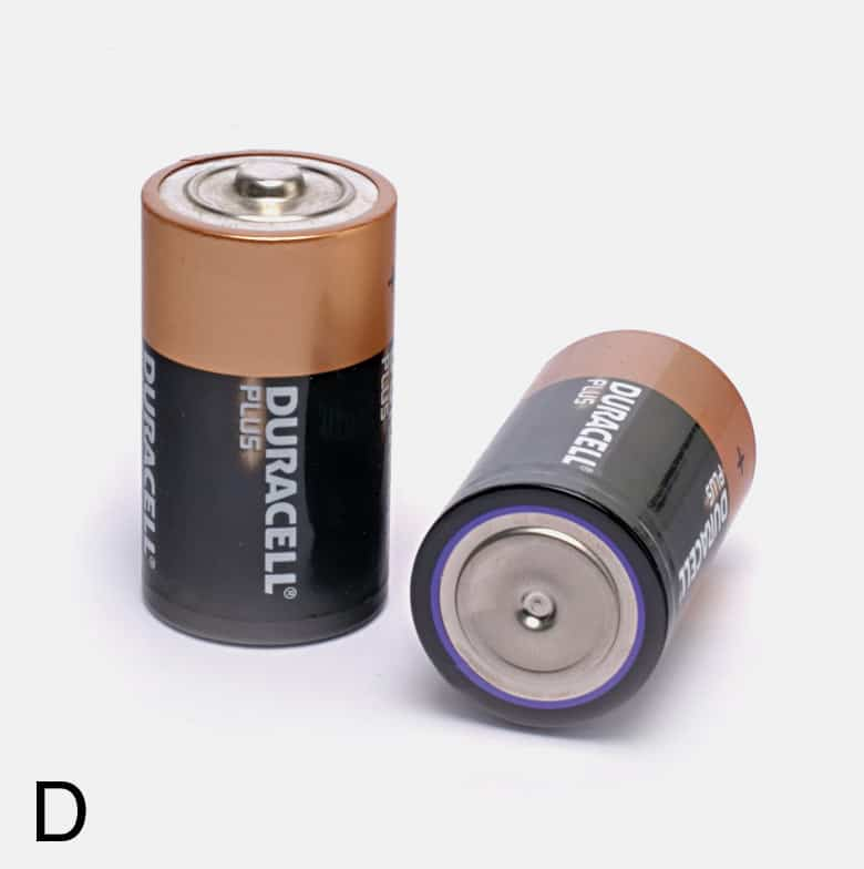 d sized battery