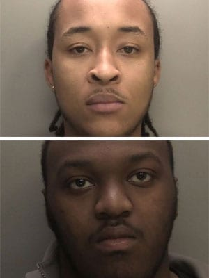 Pair jailed over violent spree of attempted robberies on security vans across the Midlands