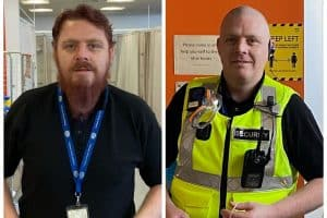 Royal Infirmary security guard raises £1000 for cancer after shaving beard off