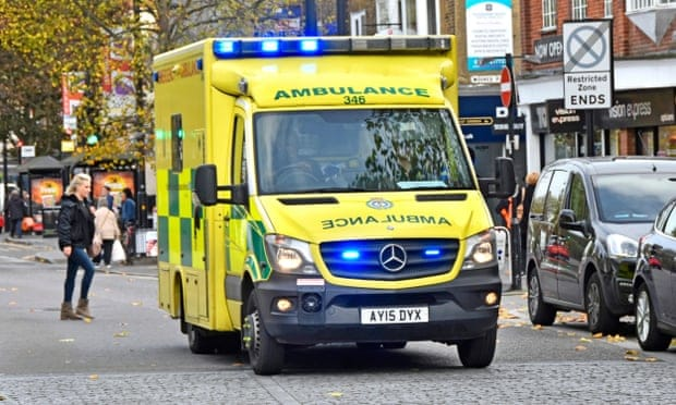 Ambulance crews in England to get body cameras after 30% rise in assaults