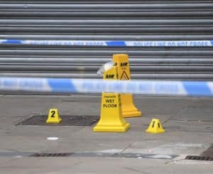 Read more about the article Man arrested on suspicion of attempted murder after security guard stabbed five times at Manchester shopping centre