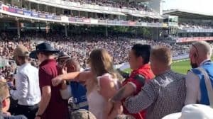 Read more about the article Woman punches security guard after she's asked to leave Lord's cricket ground – Full Video