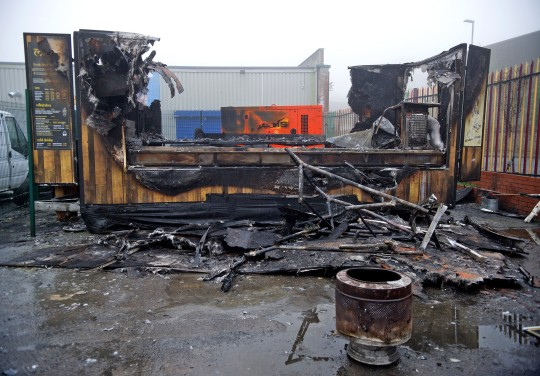 Read more about the article Masked men 'attack security guard and set fire to stall near kids' play centre'